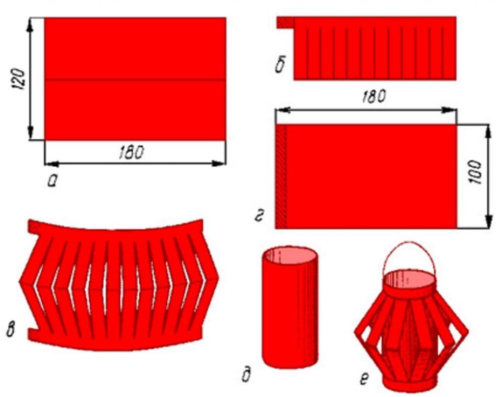 Схема китайского фонарика