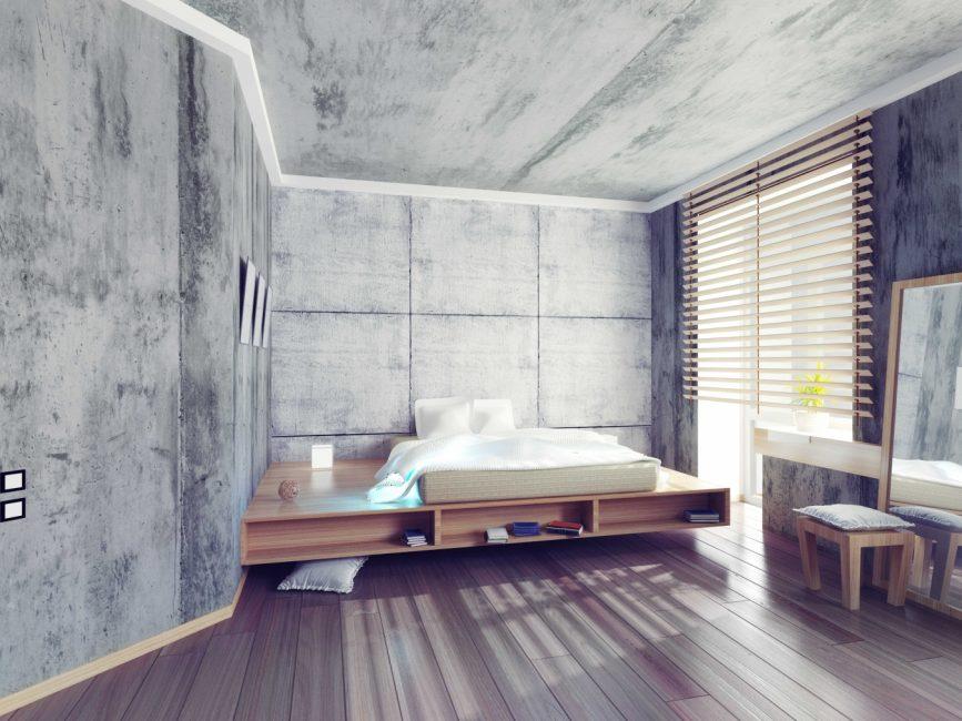 Часто применяемый эффект бетона