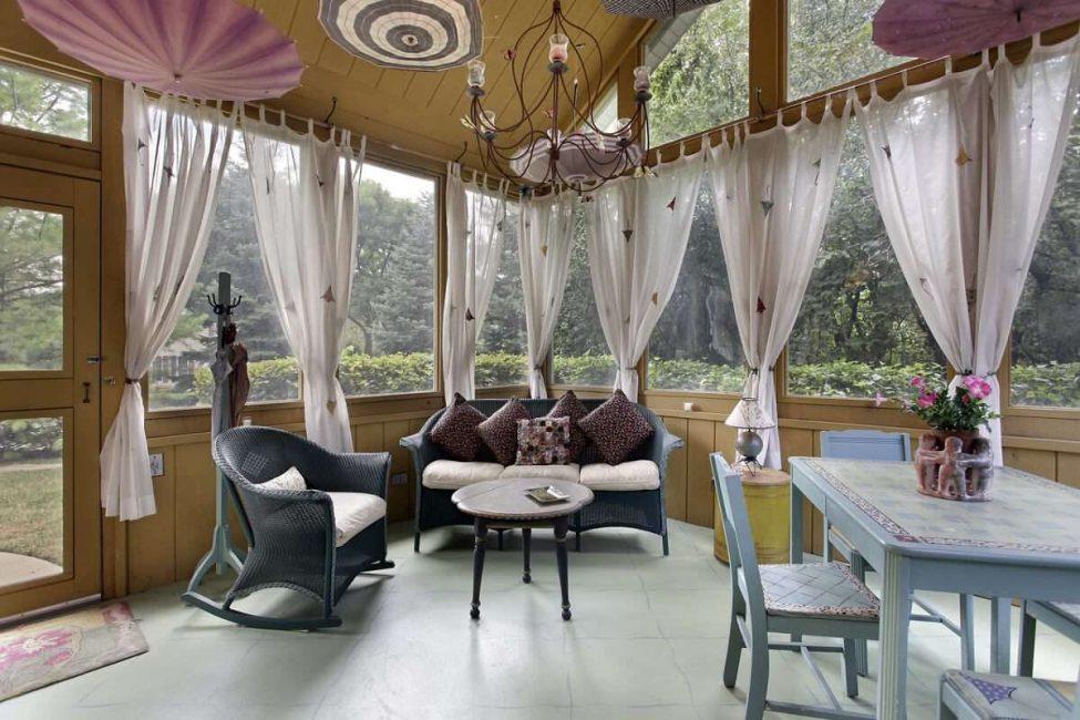 Гармоничный интерьер уютного дома