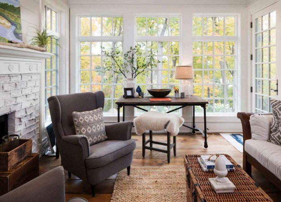Стандартный набор мебели для отдыха