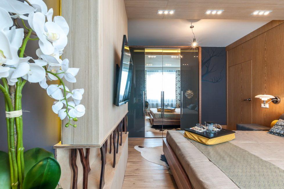 Шкаф - это главная изюминка комнаты, которая должна выделяться