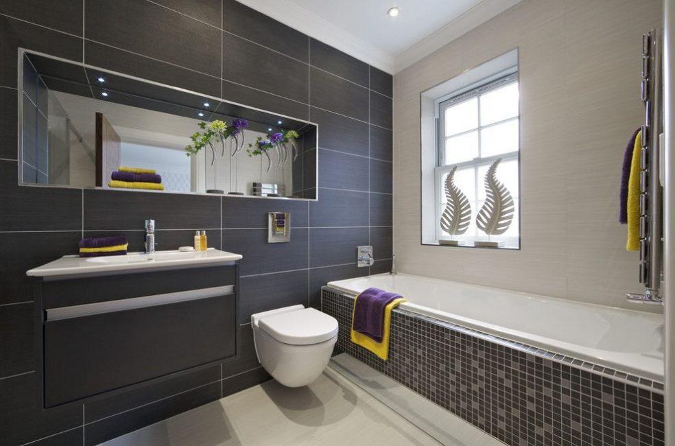 Невероятно стильная и элегантная ванная