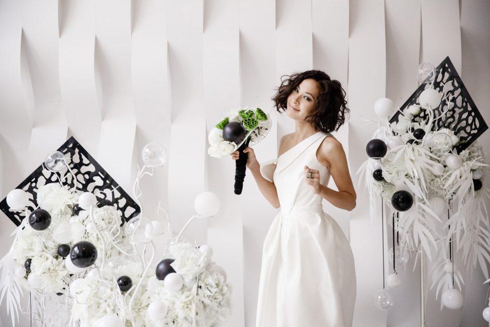 Черно-белая свадьба – гармония контраста