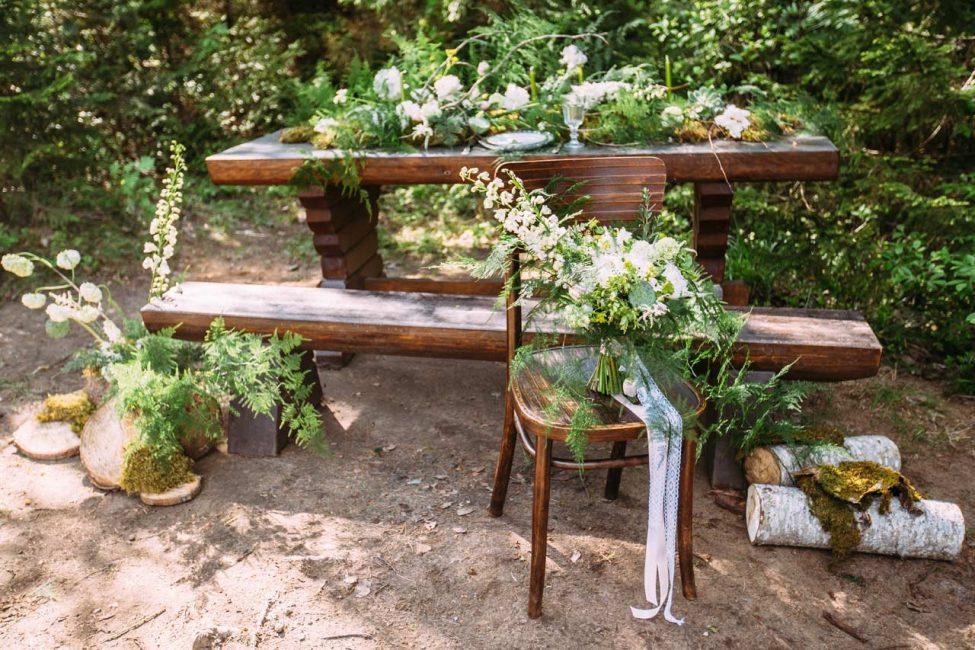 Позаботьтесь о стилистике вашей свадьбы