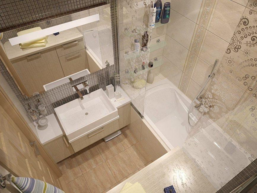 Дизайн ванной лучше делать в светлых тонах