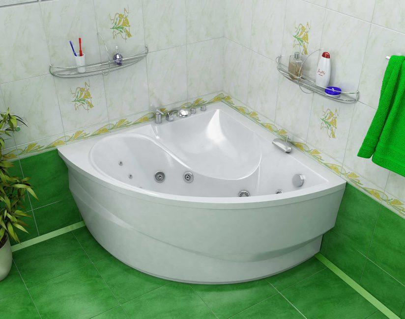 Малогабаритная ванная, но такая вместительная