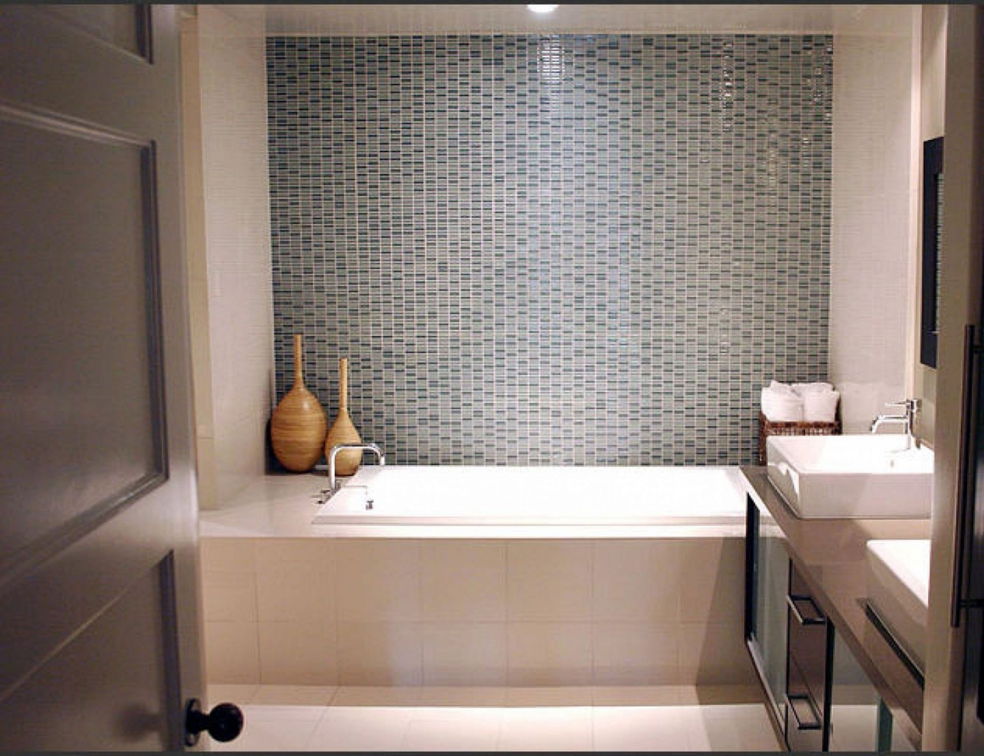 A bathroom is one of the most important place in our house where we can find comfort and serenity It is a room for personal hygiene generally containing a bathtub