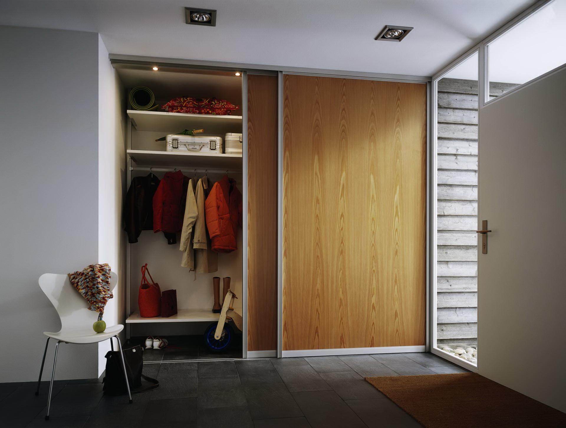 Шкафы купе в нише фото дизайн