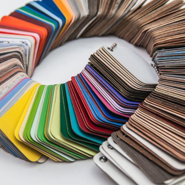 Выбор цветовой гаммы может быть самый разнообразный