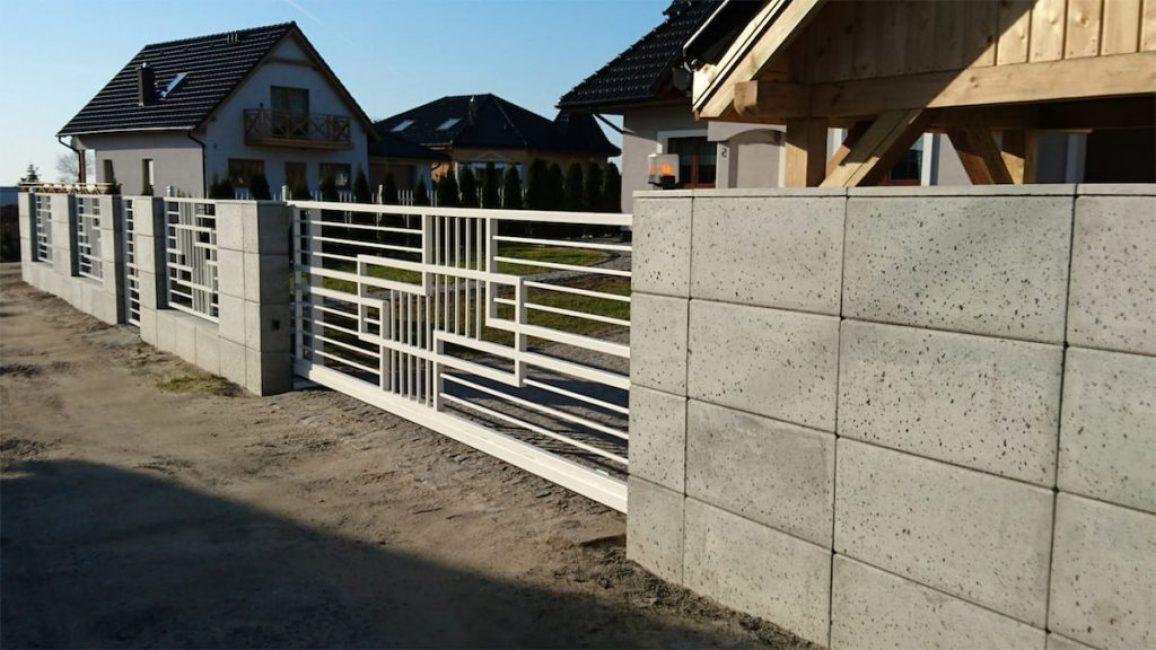 Бетонные конструкции из блоков - надежные и крепкие
