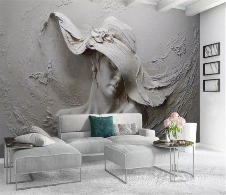 Панорамный рисунок на всю стену