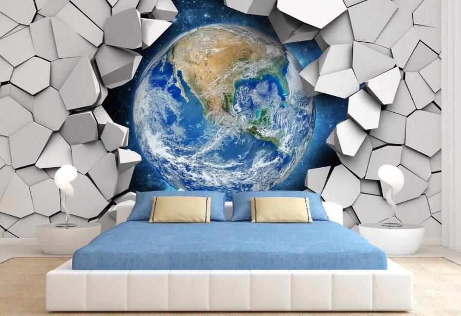 Удивительное решение для спальни