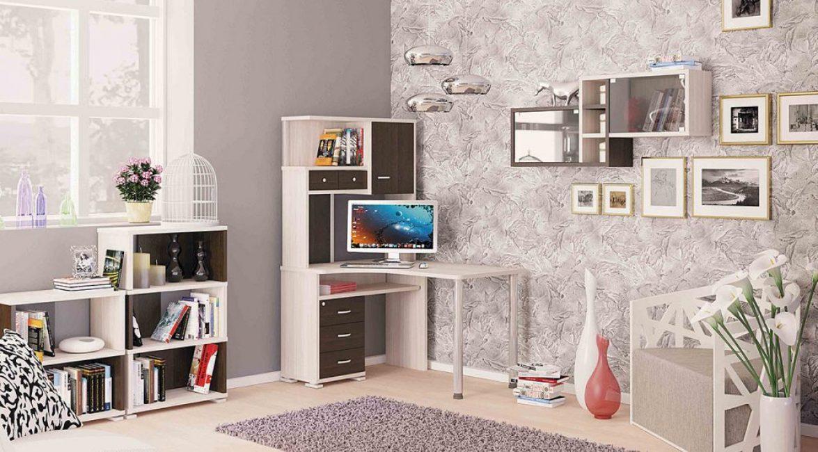 Прекрасный вариант для маленькой комнаты