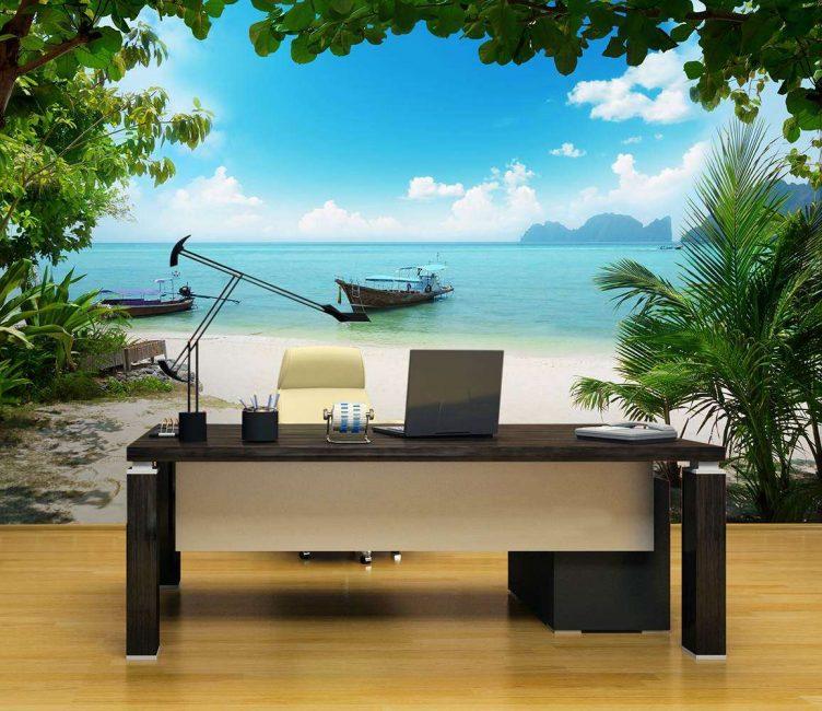 Пейзаж для комфорта и релаксации