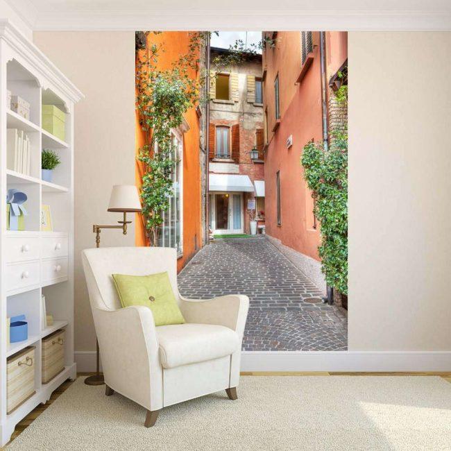 Учитывайте размер комнаты при подборе рисунка