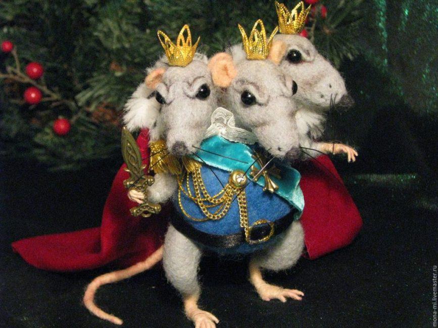 Вспомните всех мультипликационных и сказочных героев. Это может быть Король мышей или Рататуй.