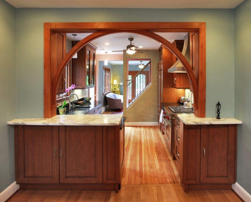 Деревянная арка в вашем доме