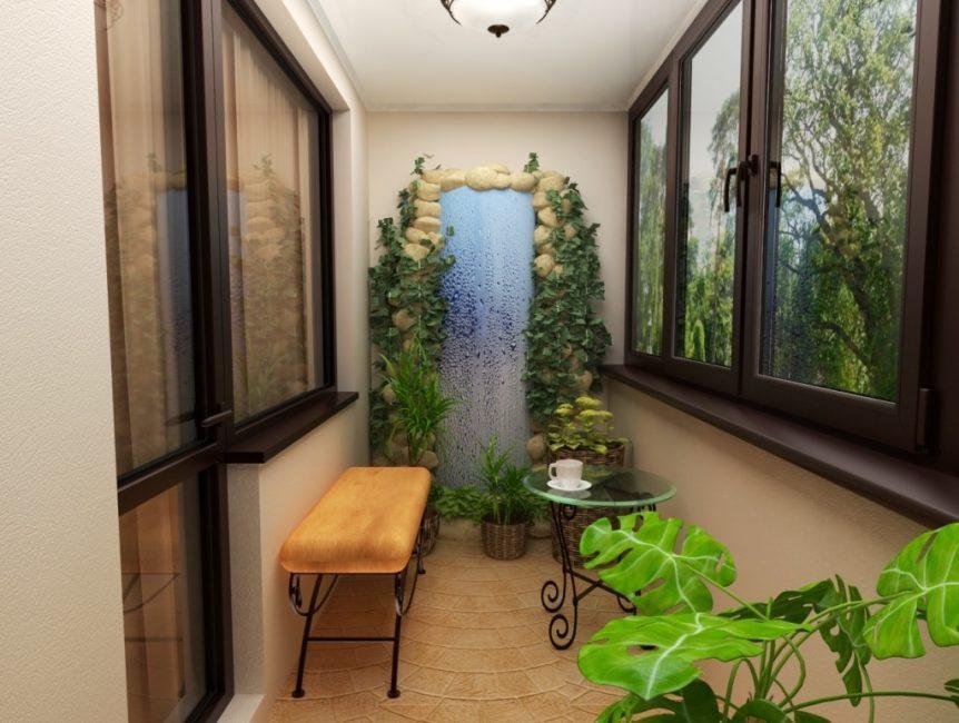 Обустройте зимний сад на балконе