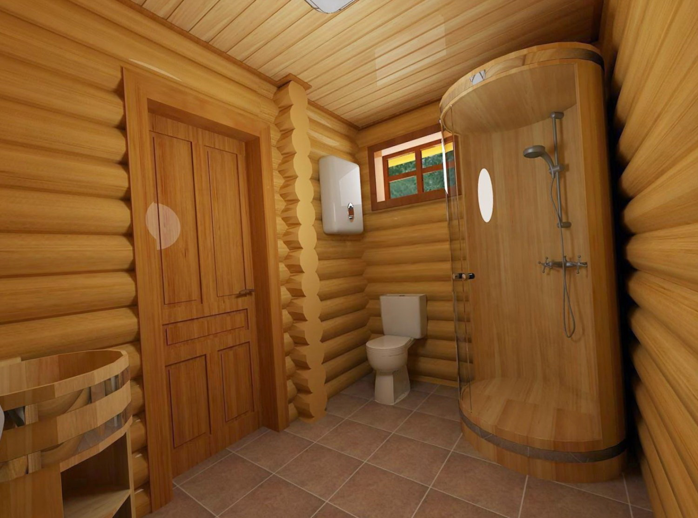 Обустройство комнаты отдыха в бане - баня с комнатой 46