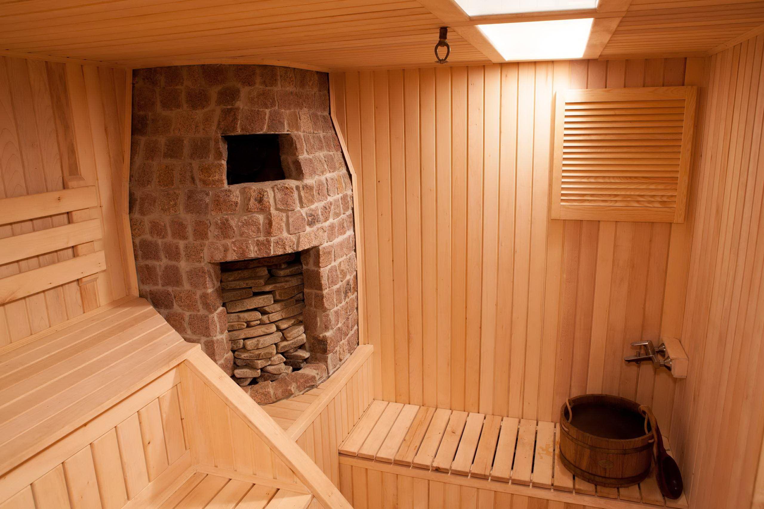 Интерьер бани внутри: оригинальные находки дизайнеров