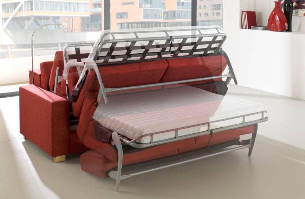 """""""Американская раскладушка"""" и «аккордеон» требуют много места, но удобны для сна"""