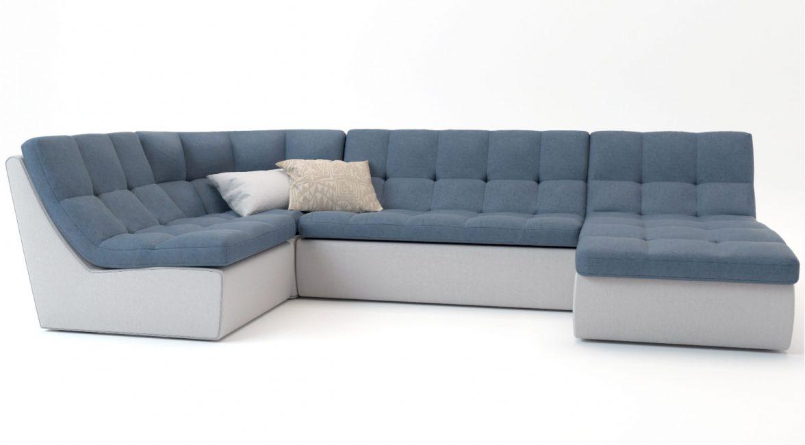Ортопедическое основание является актуальным для углового типа мебели и дивана-кровати