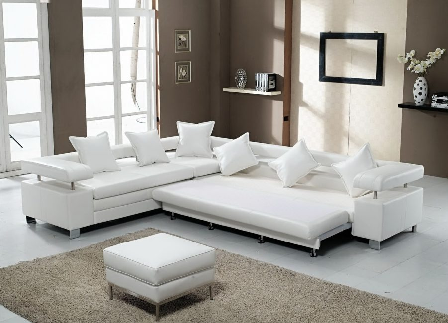 Угловая модульная система дивана - кровати