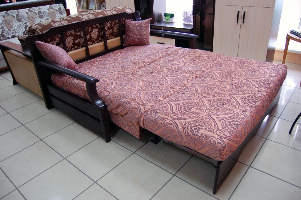 Сон на такой кровати не вызывает болевых ощущений