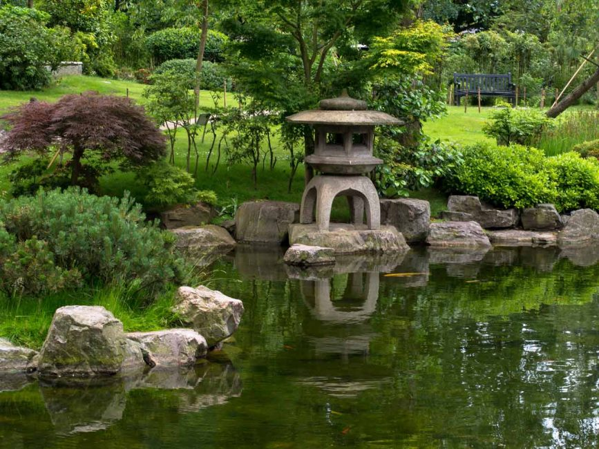 Это место для любования природой, глубоких раздумий и чайных церемоний
