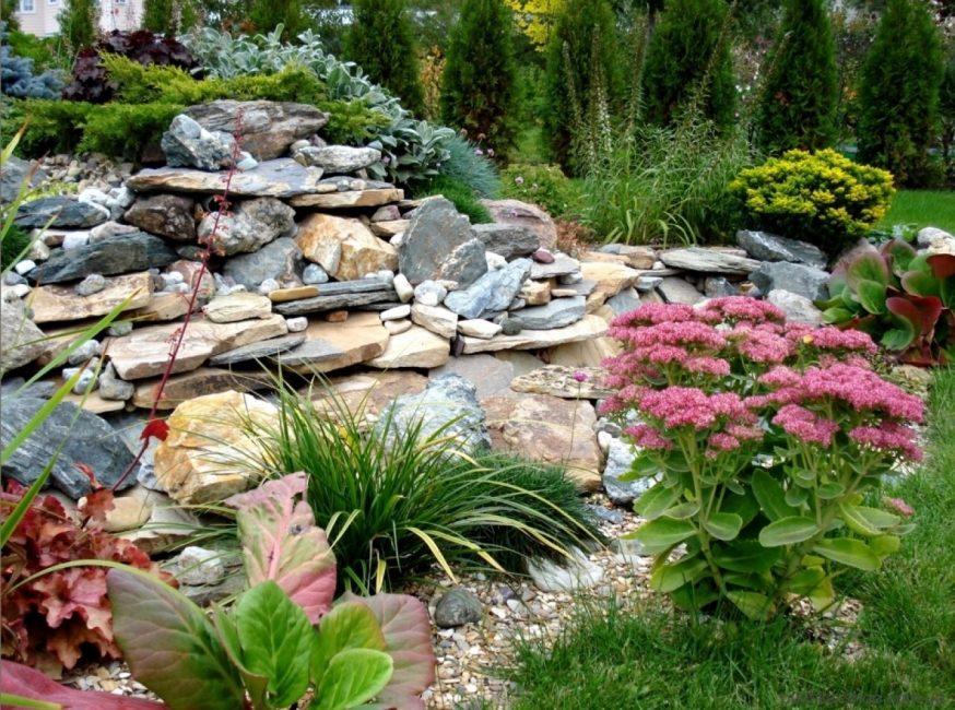Украсьте свой сад альпинарием