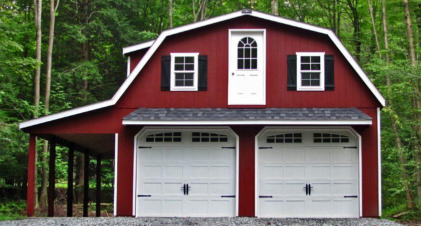 Двухэтажный дом с гаражом (+180 Фото). Проекты и планировки, ТОП-9 преимуществ