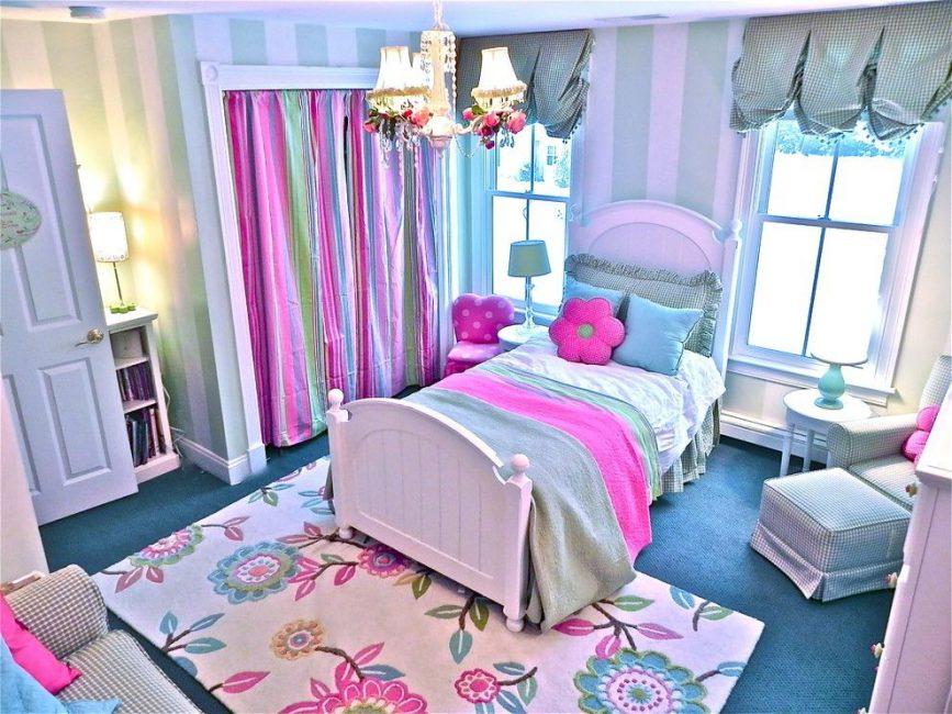 Эстетический законченный вид детской комнаты