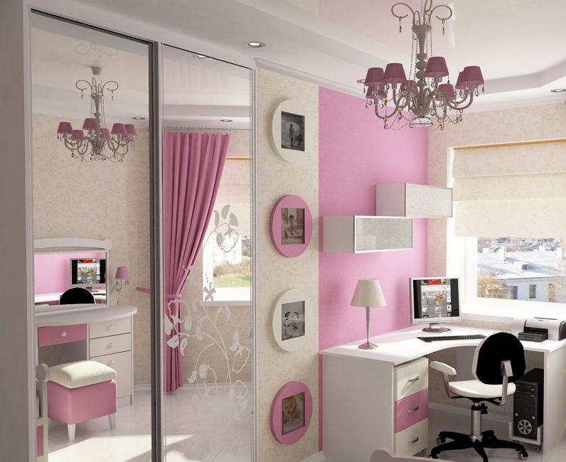 Розовый цвет для любимых дочек