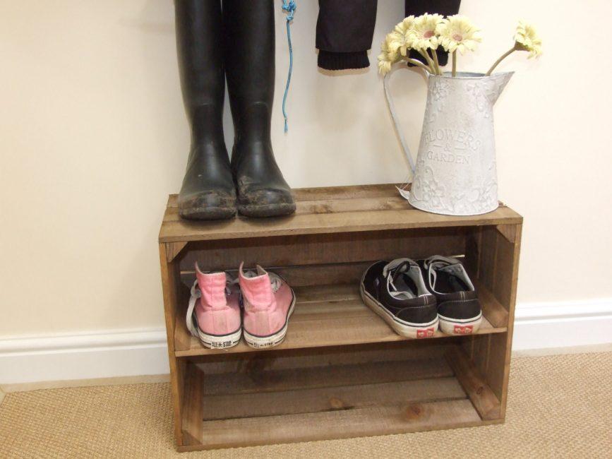 Подставки для обуви помогают поддерживать порядок