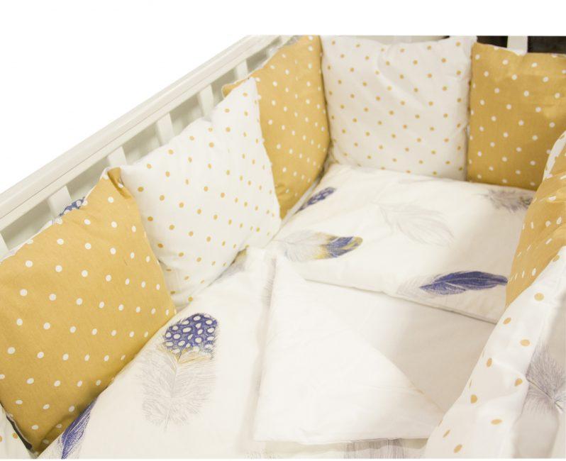 Нежный желтый в постельном белье