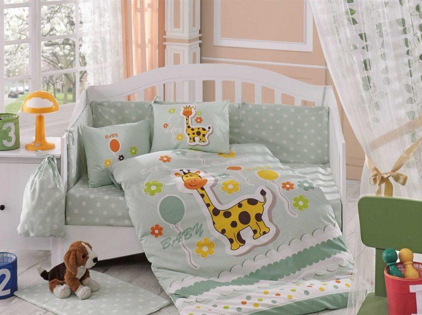 Зеленый цвет для спокойствия малыша