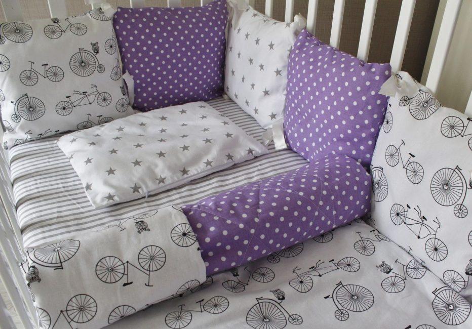 Разбавьте фиолетовый цвет белым