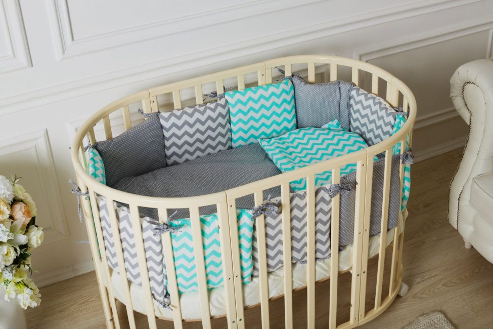 Учитывайте размер кроватки при выборе комплекта