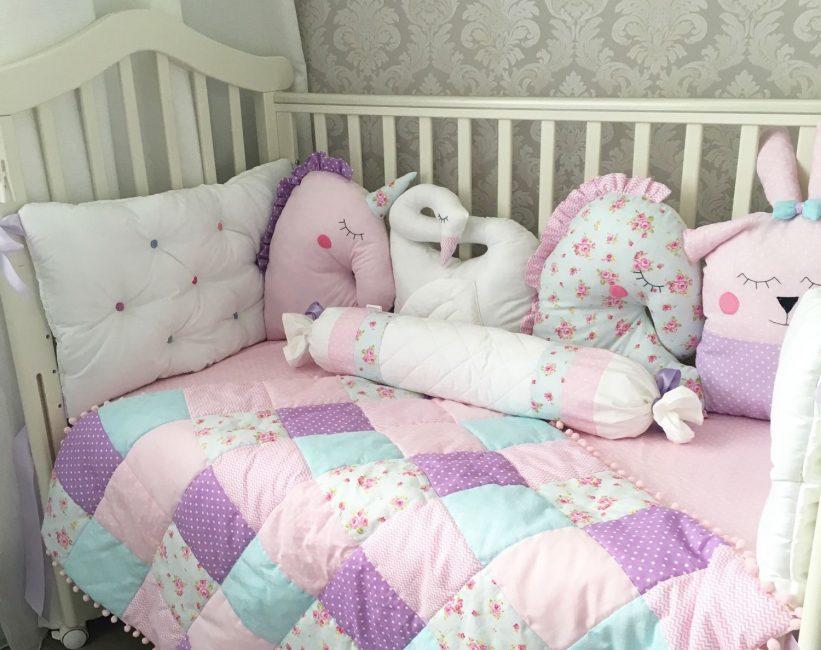 Мягкая постелька для уютного сна