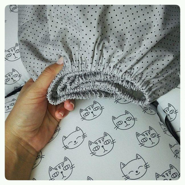 Выбирайте плотную, крепкую ткань