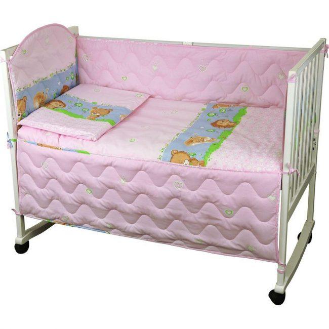 Розовые оттенки для маленькой принцессы