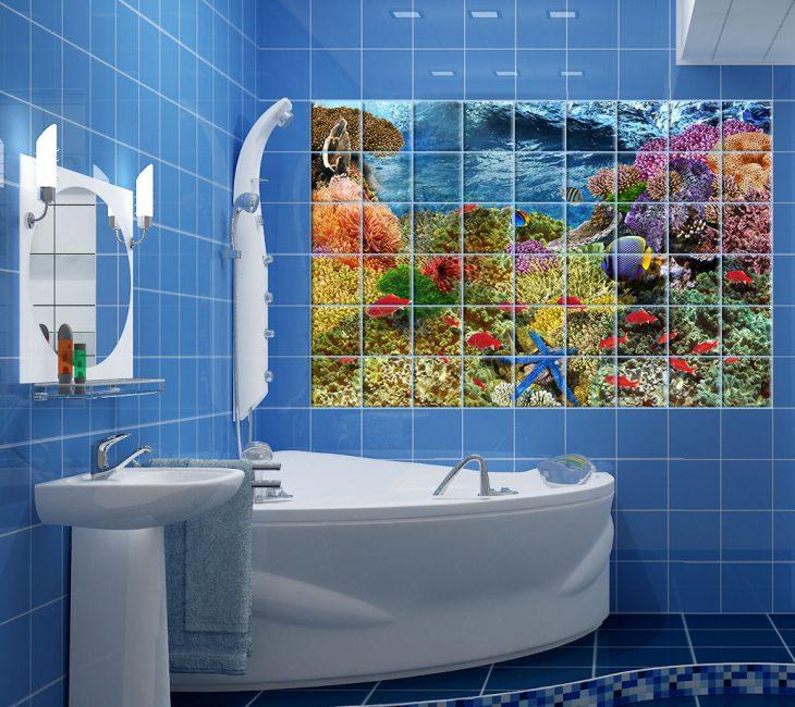 Плитка с 3д эффектом для отделки ванной