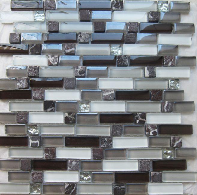 Стеклянная плитка для отделки ванной