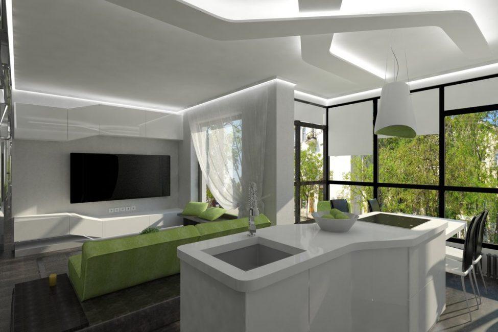 Консольные установки освобождают пространство и делают помещения более воздушными и легкими