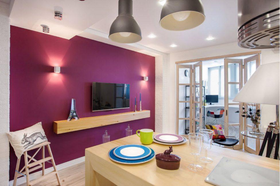 Выбирайте мебель без ножек что бы сделать пространство легким