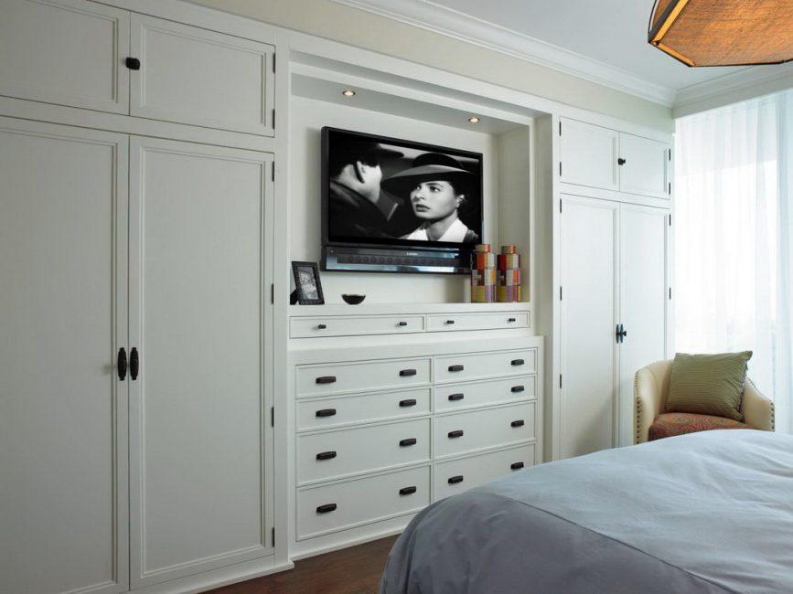 Функциональные шкафы с нишей для телевизора