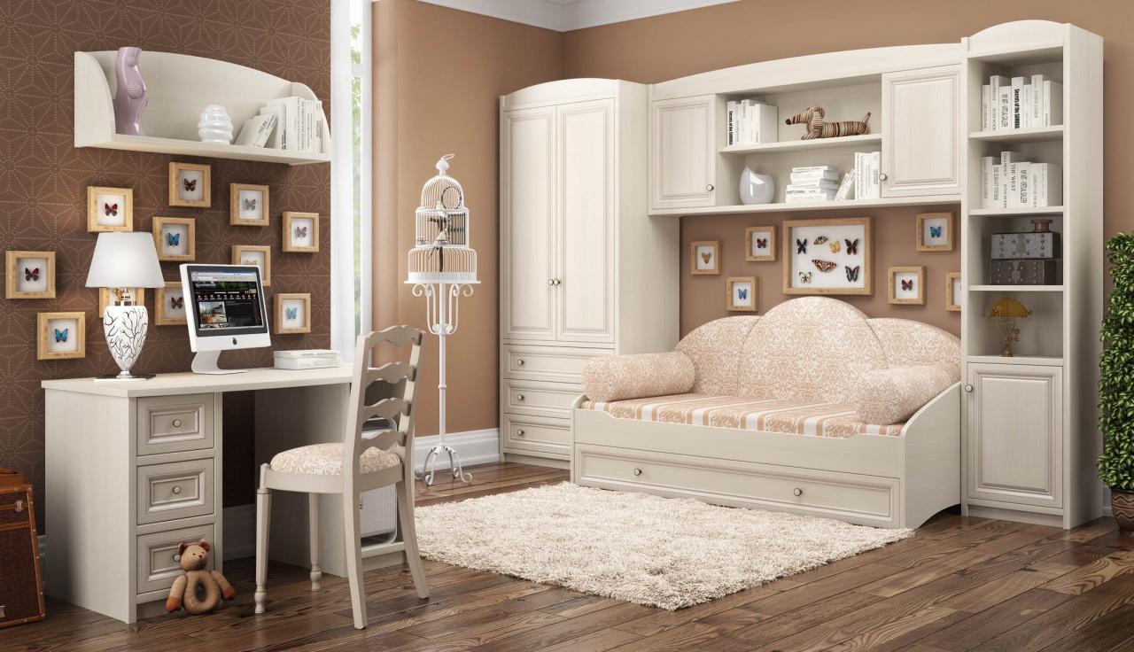 Макеты мебели для детской
