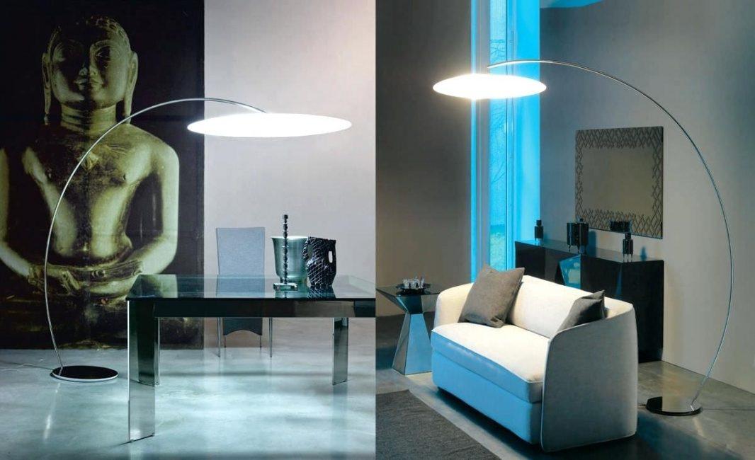 Напольный светильник для зоны отдыха