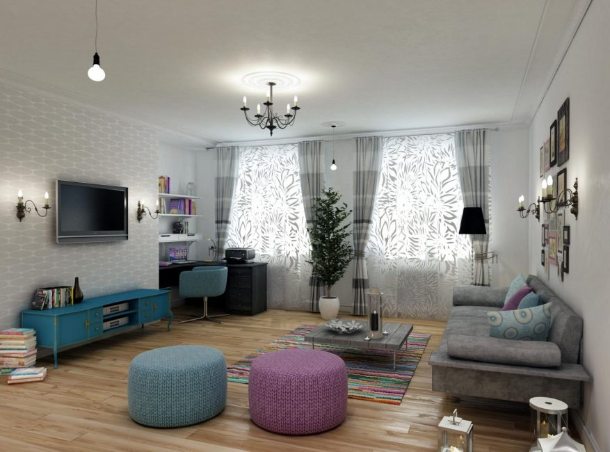 Правильное размещение мебели