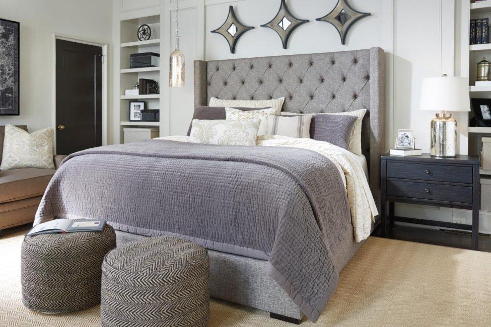 """Большое пространство для кровати """"king-size"""""""